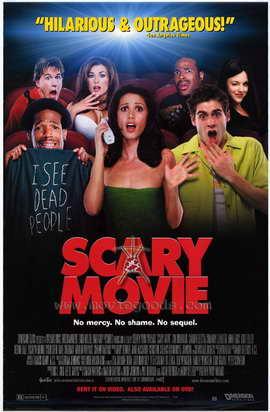 Scary Movie - 11 x 17 Movie Poster - Style B