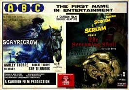 Scayrecrow - 30 x 40 Movie Poster UK - Style A