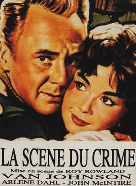 Scene of the Crime - 11 x 17 Movie Poster - French Style A
