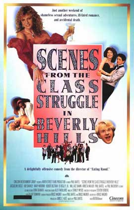 Scenes from the Class Struggle in Beverly Hills - 11 x 17 Movie Poster - Style A