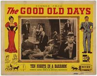 Scenes From the Good Old Days - 11 x 14 Movie Poster - Style E