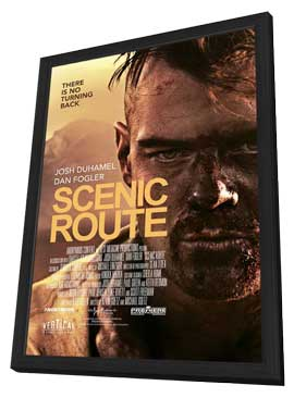 Scenic Route - 11 x 17 Movie Poster - Style A - in Deluxe Wood Frame