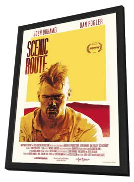 Scenic Route - 11 x 17 Movie Poster - Style B - in Deluxe Wood Frame
