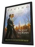 Scent of a Woman - 27 x 40 Movie Poster - Style A - in Deluxe Wood Frame