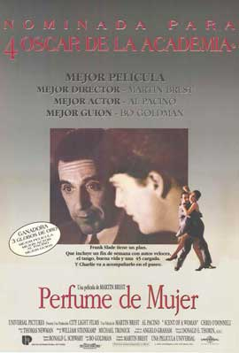 Scent of a Woman - 11 x 17 Movie Poster - Spanish Style A