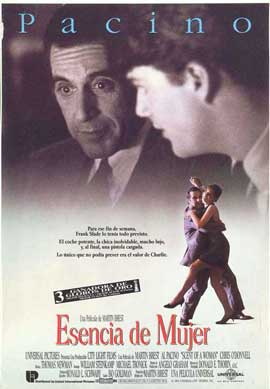 Scent of a Woman - 11 x 17 Movie Poster - Spanish Style B