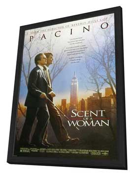Scent of a Woman - 11 x 17 Movie Poster - Style A - in Deluxe Wood Frame