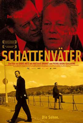Schattenv�ter - 27 x 40 Movie Poster - German Style A