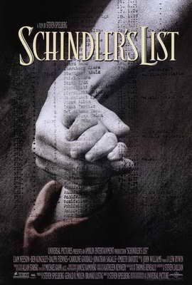 Schindler's List - 27 x 40 Movie Poster