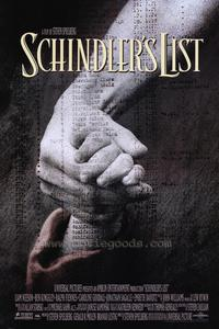 Schindler's List - 43 x 62 Movie Poster - Bus Shelter Style A