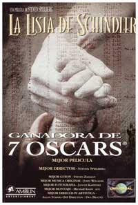 Schindler's List - 11 x 17 Movie Poster - Spanish Style C