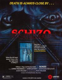 Schizo - 11 x 14 Movie Poster - Style A