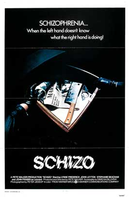 Schizo - 11 x 17 Movie Poster - Style B