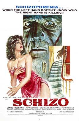 Schizo - 11 x 17 Movie Poster - Style C
