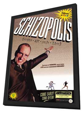 Schizopolis - 11 x 17 Movie Poster - Style A - in Deluxe Wood Frame