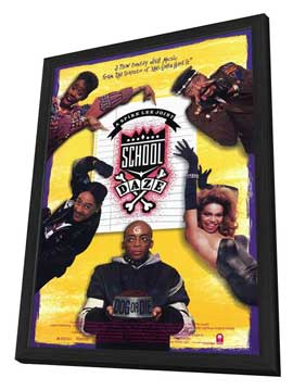 School Daze - 11 x 17 Movie Poster - Style A - in Deluxe Wood Frame