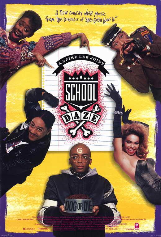 school movie poster