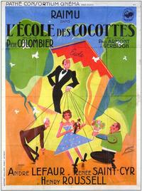 School for Coquettes - 11 x 17 Movie Poster - French Style A