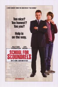School for Scoundrels - 43 x 62 Movie Poster - Bus Shelter Style A