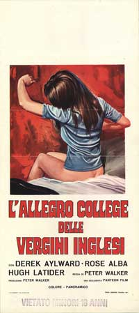 School for Sex - 13 x 28 Movie Poster - Italian Style A