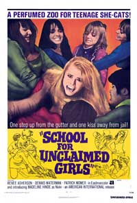 School for Unclaimed Girls - 27 x 40 Movie Poster - Style A