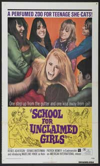 School for Unclaimed Girls - 43 x 62 Movie Poster - Bus Shelter Style A