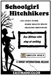 Schoolgirl Hitchhikers - 11 x 17 Movie Poster - Style A
