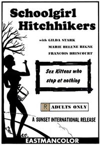 Schoolgirl Hitchhikers - 27 x 40 Movie Poster - Style A