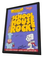 Schoolhouse Rock! - 11 x 17 Movie Poster - Style A - in Deluxe Wood Frame