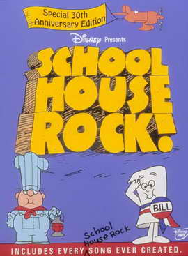 Schoolhouse Rock! - 11 x 17 Movie Poster - Style A