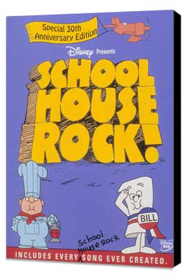 Schoolhouse Rock! - 11 x 17 Movie Poster - Style A - Museum Wrapped Canvas