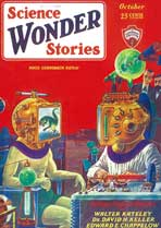 Science Wonder Stories (Pulp) - 11 x 17 Pulp Poster - Style B