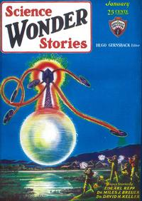 Science Wonder Stories (Pulp) - 11 x 17 Pulp Poster - Style A