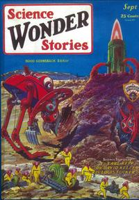 Science Wonder Stories (Pulp) - 11 x 17 Pulp Poster - Style C