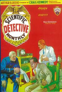Scientific Detective Monthly (Pulp) - 11 x 17 Pulp Poster - Style A