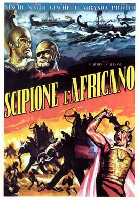 Scipio Africanus: The Defeat of Hannibal - 11 x 17 Movie Poster - Italian Style A
