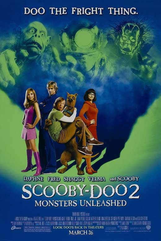 scooby doo 2 monsters unleashed movie posters from movie