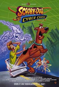 Scooby-Doo and the Cyber Chase - 11 x 17 Movie Poster - Style A - Museum Wrapped Canvas