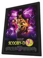 Scooby-Doo - 27 x 40 Movie Poster - Style A - in Deluxe Wood Frame