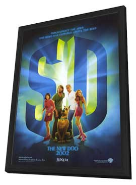 Scooby-Doo - 11 x 17 Movie Poster - Style A - in Deluxe Wood Frame