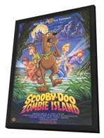 Scooby-Doo on Zombie Island - 11 x 17 Movie Poster - Style A - in Deluxe Wood Frame