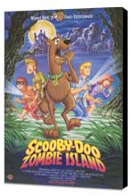 Scooby-Doo on Zombie Island - 11 x 17 Movie Poster - Style A - Museum Wrapped Canvas