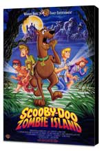 Scooby-Doo on Zombie Island - 27 x 40 Movie Poster - Style A - Museum Wrapped Canvas