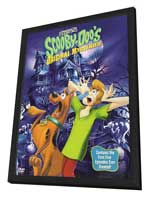 Scooby Doo, Where Are You! - 11 x 17 Movie Poster - Style D - in Deluxe Wood Frame