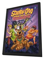 Scooby Doo, Where Are You! - 27 x 40 Movie Poster - Style E - in Deluxe Wood Frame