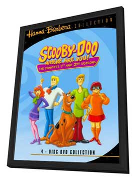 Scooby Doo, Where Are You! - 11 x 17 Movie Poster - Style F - in Deluxe Wood Frame
