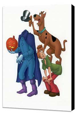 Scooby Doo, Where Are You! - 11 x 17 Movie Poster - Style B - Museum Wrapped Canvas