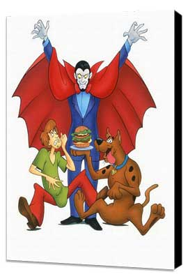 Scooby Doo, Where Are You! - 27 x 40 Movie Poster - Style A - Museum Wrapped Canvas