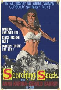 Scorching Sands - 11 x 17 Movie Poster - Style A