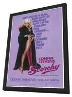 Scorchy - 11 x 17 Movie Poster - Style A - in Deluxe Wood Frame